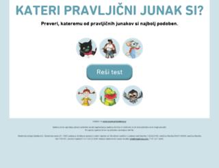 pravljicnijunak.mladinska.com screenshot