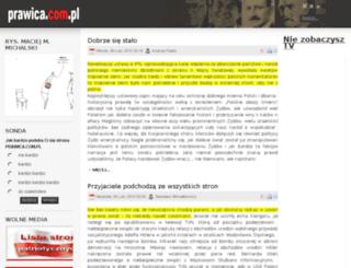 prawica.com.pl screenshot