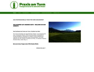 praxis-am-turm.com screenshot