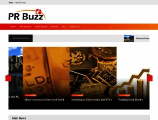 prbuzz.com screenshot