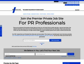 prcrossing.com screenshot