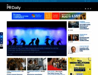 prdaily.com screenshot