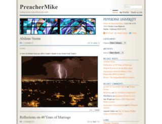 preachermike.com screenshot