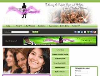 preachingwoman.com screenshot