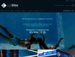 preblau.com screenshot