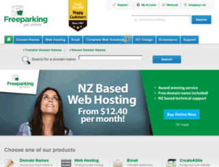 preblueprint.freeparking.co.nz screenshot