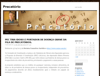 precatorio.adv.br screenshot
