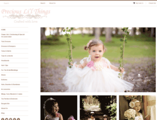 preciouslilthings.com screenshot