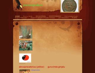 preciousproducts.weebly.com screenshot