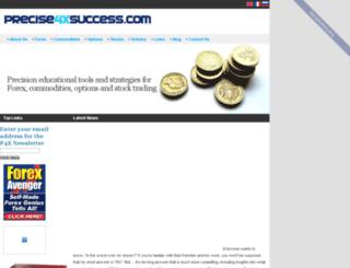 precise4xsuccess.com screenshot
