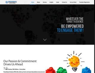 preciseresearchsolutions.com screenshot