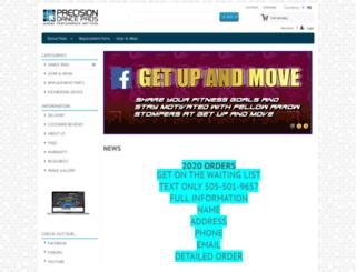 precisiondancepads.com screenshot