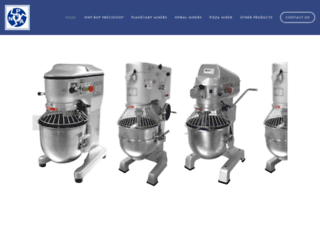 precisionmixers.com screenshot