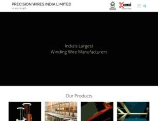 precisionwires.com screenshot