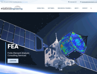 predictiveengineering.com screenshot