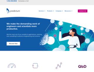 predictum.com screenshot