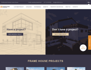 prefabhome.eu screenshot