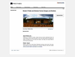 prefabs.com screenshot