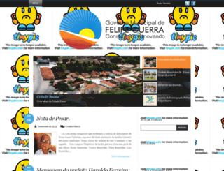 prefeiturafelipeguerra.blogspot.com.br screenshot