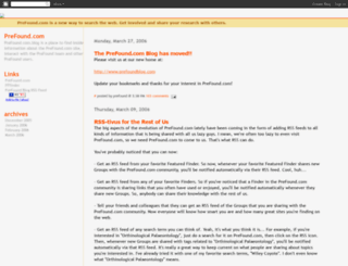 prefound.blogspot.nl screenshot