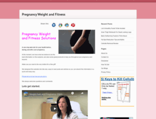 pregnancyweightsolutions.com screenshot