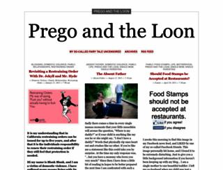 pregoandtheloon.wordpress.com screenshot