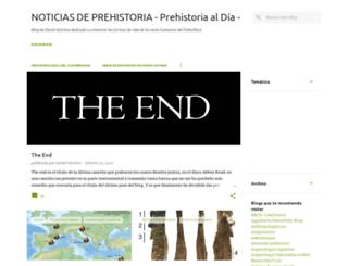 prehistorialdia.blogspot.com.es screenshot