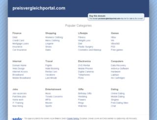 preisvergleichportal.com screenshot