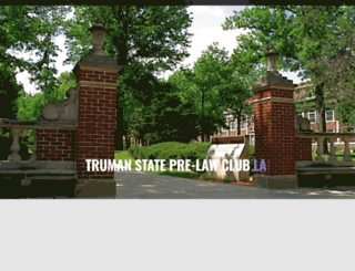 prelawclub.truman.edu screenshot