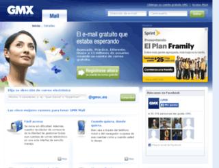 prelive.gmx.es screenshot
