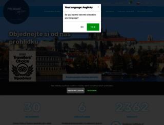 premiant.cz screenshot