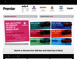 premier-car.co.uk screenshot