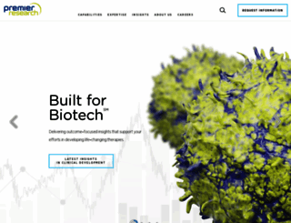 premier-research.com screenshot