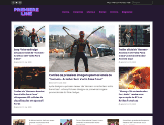 premiereline.com.br screenshot