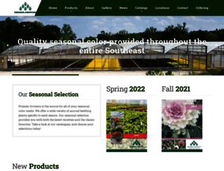 premiergrowersinc.com screenshot