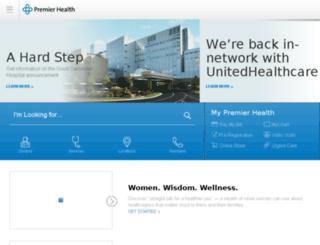 premierhealthpartners.com screenshot