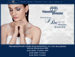 premierjewelersjax.com screenshot