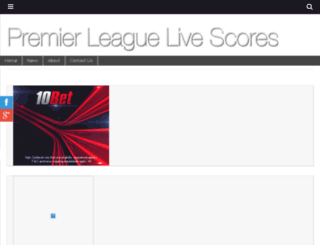premierleaguelivescores.com screenshot