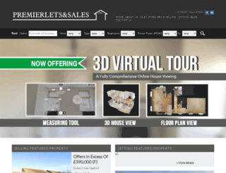 premierletsandsales.com screenshot