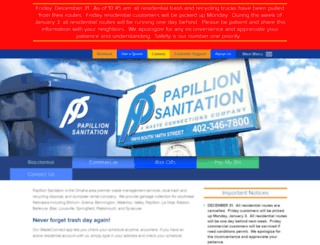 premierwastesolutions.com screenshot
