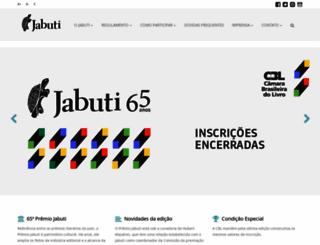 premiojabuti.com.br screenshot