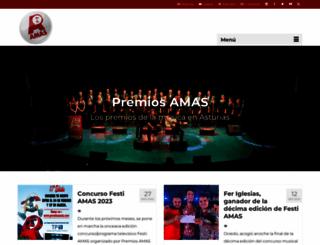 premiosamas.com screenshot