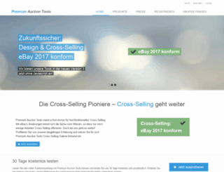 premium-auction-tools.com screenshot