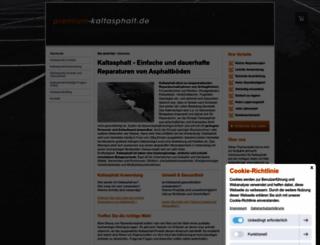 premium-kaltasphalt.de screenshot