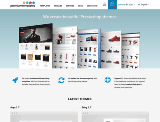 premium-templates.eu screenshot