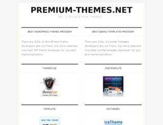 premium-themes.net screenshot