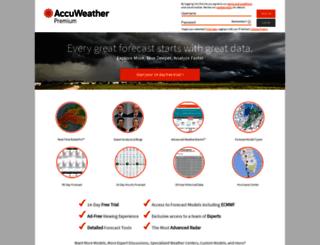 premium.accuweather.com screenshot