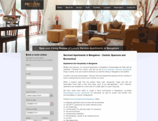premiumservicedapartments.com screenshot