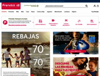 prenatal.es screenshot