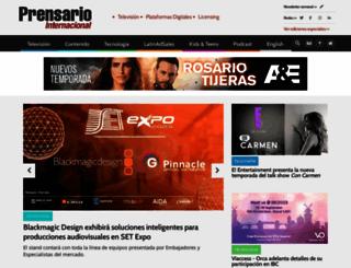 prensario.net screenshot